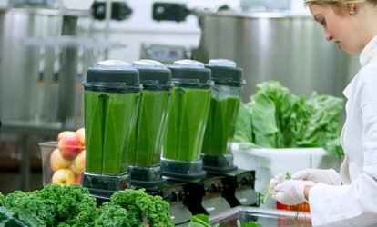 One, Three, or Five Day Low-Sugar Juice Cleanse from Chef V (Up to 72% Off)