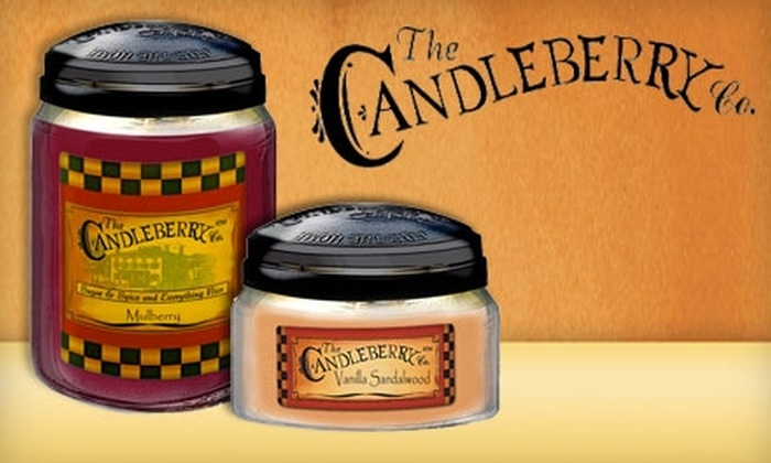 The Candleberry Candle Company: $15 for $30 Worth of Candles and Gifts at The Candleberry Company