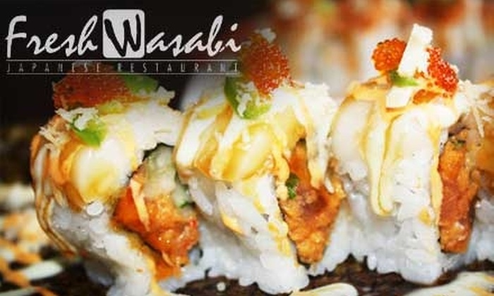 Fresh Wasabi - Surprise Towne Center: $15 for $30 Worth of Sushi and Drinks at Fresh Wasabi in Surprise