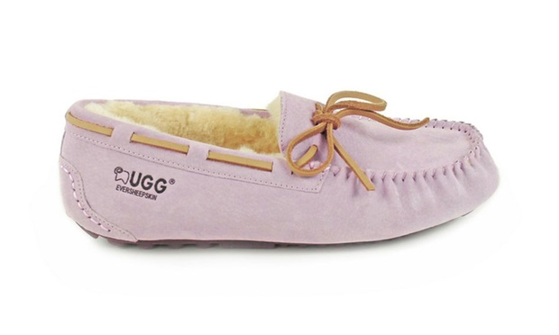 $64 for Ever UGG Water Resistant Moccasins in Ten Colours