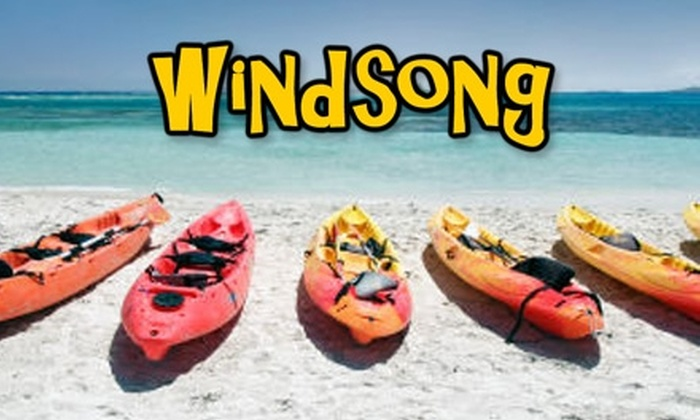 Windsong Charters - Flor-a-mar: $30 for Full Day of Tandem Kayaking or Canoeing ($65 Value)