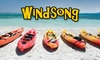 Windsong Charters, Inc. - Flor-a-mar: $30 for Full Day of Tandem Kayaking or Canoeing ($65 Value)