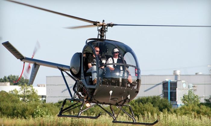 Bachman Aero - Schaumburg: $149 for a Helicopter Flight Lesson from Bachman Aero in Schaumburg ($295 Value)
