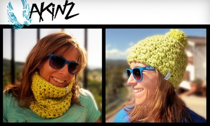 Akinz: $20 for $40 Worth of T-Shirts, Beanies, and More from Akinz