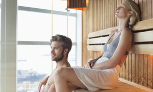 Serenity Day Spa : Infrared Sauna Session for One or Two or Infrared Body Wrap for One or Two at Serenity Day Spa (Up to 55% Off)