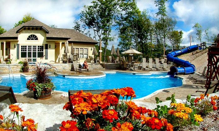 Cap Tremblant - Mont-Tremblant: $279 CAN for a Two-Night Stay for Up to Six in a Mountain Home at Cap Tremblant in Quebec (Up to $478 CAN Value)