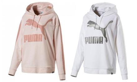 Sudadera clásica con logo Puma