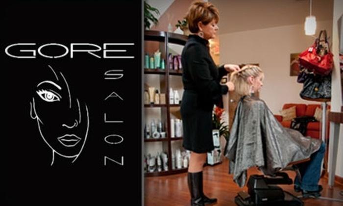 Gore Salon - Northwest Columbia: $35 for $75 Worth of Salon Services at Gore Salon