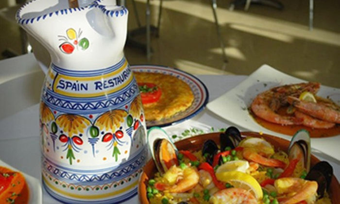 Spain Restaurant and Toma Bar - Downtown: $15 for $30 Worth of Spanish Cuisine and Drinks at Spain Restaurant and Toma Bar
