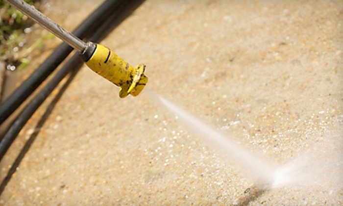 Grand Slam Garage Sales - Houston: $99 for Driveway Pressure Washing from Grand Slam Garage Sales ($300 Value)