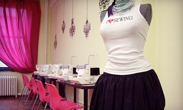 The Sewing Studio - Chelsea: Quick-Start Sewing Program at The Sewing Studio. Seventeen Options Available.