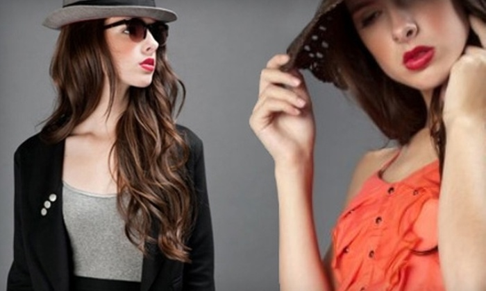 Blush Boutique - Cleveland Heights: $20 for $40 Worth of Designer Apparel and Jewelry at Blush Boutique in Cleveland Heights