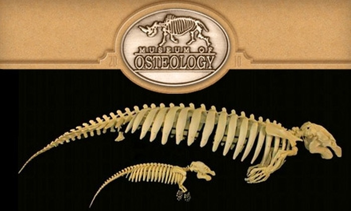Museum of Osteology - Southeast Oklahoma City: $5 for Two Admissions to the Museum of Osteology ($10 Value)