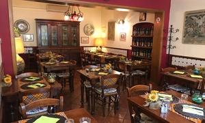 La Porta del Chianti: Menu tipico del Chianti con vino per 2 o 4 persone al ristorante La Porta del Chianti (sconto fino a 60%)