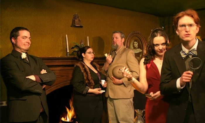 Mystery Theatre - Taylorsville: $11 for Two Tickets to a Mystery Theatre Performance at Castle of Chaos in Taylorsville ($22 Value)