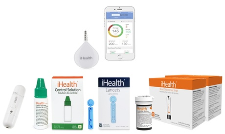 iHealth Align iPhone Blood Glucose Meter and Accessories Kit (15-Piece) 6e229a40-2540-11e7-802a-00259069d7cc