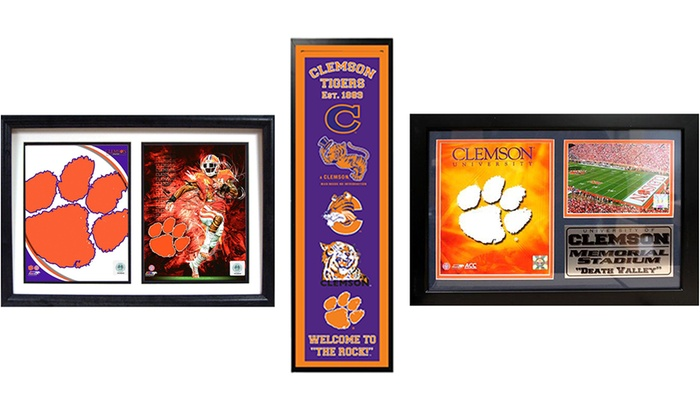 NCAA Playoffs Memorabilia: Encore Select NCAA Playoffs Clemson Tigers Frames
