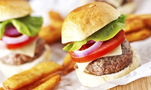 Cowboys Bar and Grill: Burgers and Casual Bar Fare at Cowboys Bar and Grill (52% Off). Two Options Available.