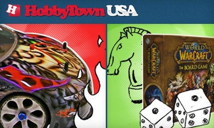 HobbyTown USA - Lincoln: $10 for $20 Worth of Hobby Supplies, Kits, Games, and More at HobbyTown USA