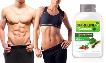 Jusqu'à 12 mois de cure minceur à base de Spiruline Bio Guarana