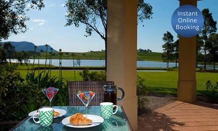 Pokolbin: 2- or 3-Night Escape for Two or Four with Wine, Cheese Platter and Late Check-Out at Leisure Inn Pokolbin Hill
