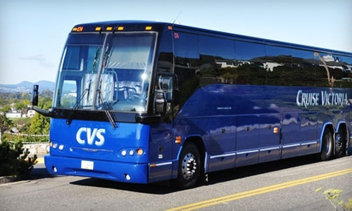 CVS Cruise Victoria - Downtown: $24 for Two Tickets to a Deluxe Victoria City Tour from CVS Cruise Victoria (Up to $49.28 Value)