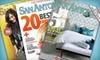 """San Antonio Magazine"": $10 for a Two-Year Subscription to ""San Antonio Magazine"" ($20 Value)"