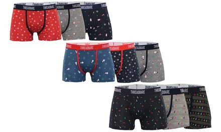 Threadbare Men's Stylish Christmas Boxers ThreePack