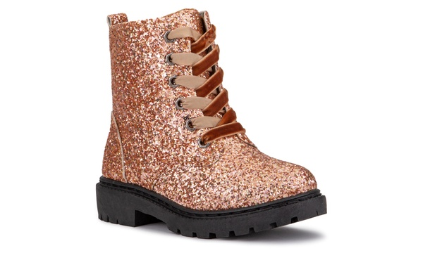 Olivia Miller Girls Glitter Nova Fashion Boots