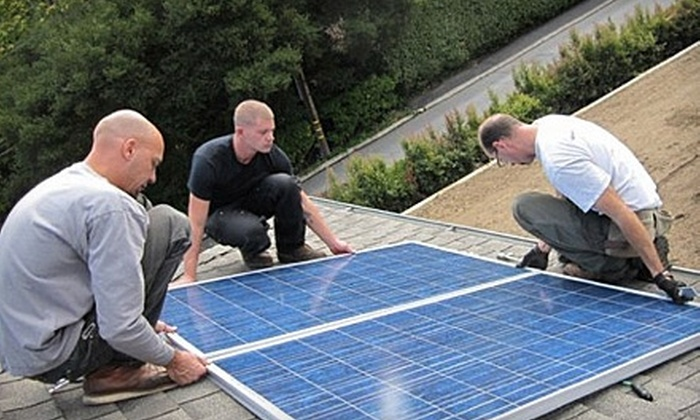 One Block Off The Grid - Downtown: $99 for $1,100 Toward Home Solar-Power Panels and Installation from One Block Off the Grid