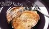 Alaska Dinner Factory - Campbell Park: $40 for a Three-Entree Meal Session at Alaska Dinner Factory (An $80 Value)