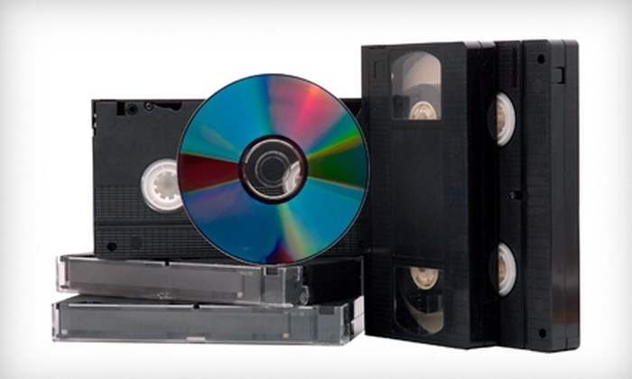 Multimedia Solutions - Fairfield County: $50 for Four Videotape-to-DVD Transfers at Multimedia Solutions in East Haven ($100 Value)