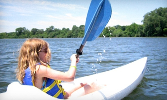 Wingra Boats - Madison: $10 for a Two-Hour Kayak or Canoe Rental (Up to $24 Value) or $20 for a Stand-Up Paddleboarding Lesson ($35 Value) from Wingra Boats