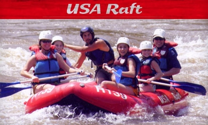 USA Raft - 5, Walnut: $21 Half-Day Guided Whitewater Rafting Tour on the French Broad River from USA Raft ($43.95 Value)