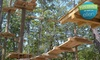 Seacoast Adventure - North Windham: $25 for Zipline Package with Two-Hour Ropes Course and Instructional Class at Seacoast Fun Park (Up to $53 Value)
