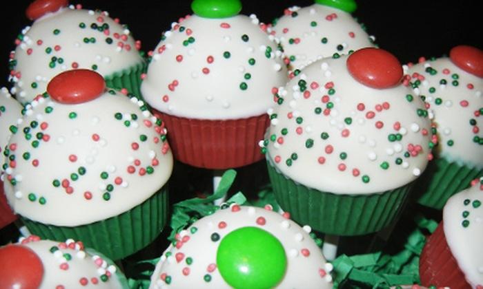 The Cake Pop Goddess - Midtown: $19 for One Dozen Cupcake Pops at The Cake Pop Goddess ($40 Value)