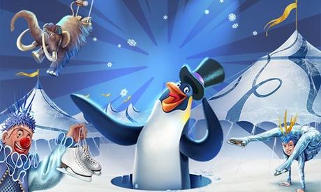"""Entrada para el """"Circo Alegría On Ice""""  del 13 de julio al 8 de agosto desde 6,95 €; 3 localizaciones a elegir"""