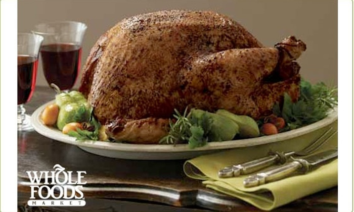 Whole Foods - Chicago: Free $10 Coupon towards any Whole Foods Holiday Meal