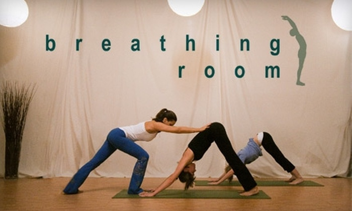 Breathing Room Yoga - Hamden: $20 for a Five-Class Pass at Breathing Room Yoga in New Haven