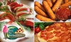 FDB Eatery - Jefferson: $10 for $20 Worth of Pizza and More at Frozen Dairy Bar and Boardwalk Pizza in Falls Church