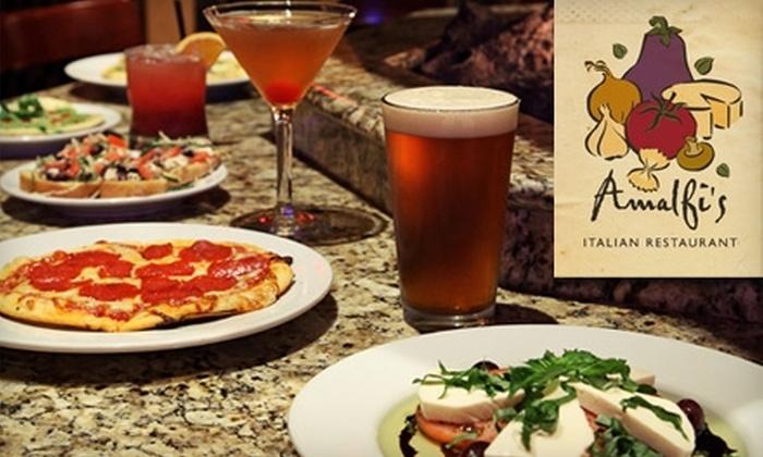 Amalfi's - Cully: $15 for $30 Worth of Signature Pizza and Italian Cuisine at Amalfi's