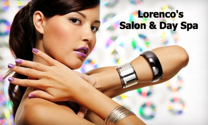 Lorenco's Salon & Day Spa - Fair Heights: $49 for $100 Worth of Services at Lorenco's Salon & Day Spa