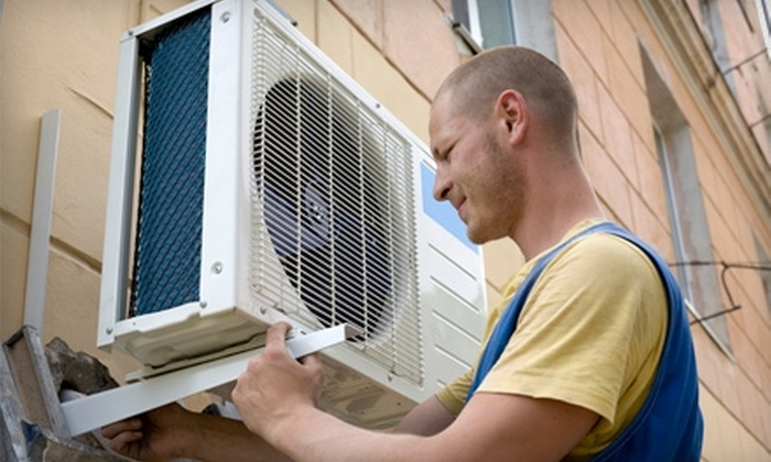 Blue Dot Baltimore - Inner Harbor: $33 for a Heating- or Cooling-System Cleaning and Inspection from Blue Dot Services of Maryland ($99 Value)