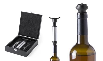 Set de vinos de Antonio Miró