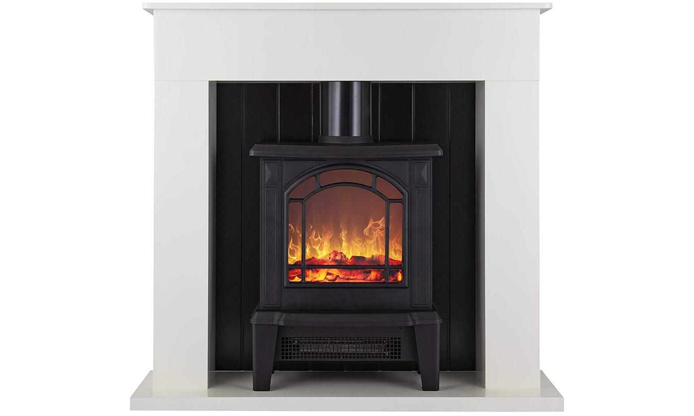 Warmlite Ealing 1.8KW Compact Stove Fire Suite With Free Delivery
