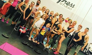 Empress Studio: Monthly Pass to Selection of Fitness Classes at Empress Studio (Up to 43% Off)