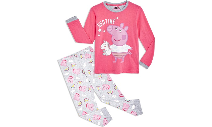 Peppa Pig Kids' Pyjama Set or One-Piece Suit