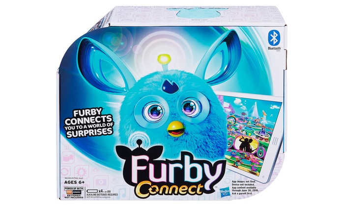 how to connect your furby connect to the app