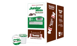 Junior Mint Hot Chocolate Pods for Keurig K-Cup Brewers (40-Count)