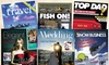 Simply Personalized: One or Two Fake Magazine Covers, or Two Covers with Frame from Simply Personalized (Up to 58% Off)